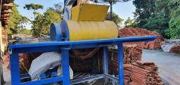 Misturador de concreto horizontal com apás para fabricas de blocos