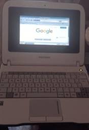 Vendo Netbook Positivo Kids Mobo S7, funcionando, com carregador