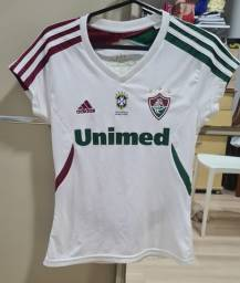 Blusa do Fluminense branca, original da Adidas, de 2011