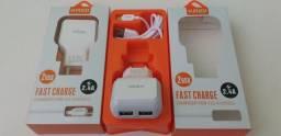 Carregador Micro USB Original (Entrega Domiciliar Grátis)