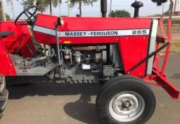 Título do anúncio: Trator Massey Ferguson 265 4x2 ano 95