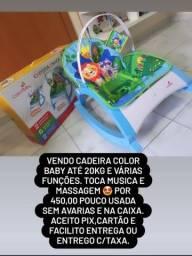 Cadeira color baby