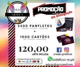 1000 cartões 50,00 - Panfletos - Banner