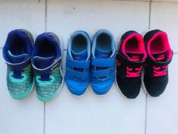Tênis de menina Nike / ASICS / Puma