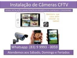 Câmeras de Segurança + Instalação Com Acesso Via Celular