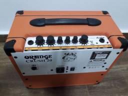 Título do anúncio: Combo orange 20 crush amplificador para guitarra