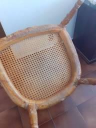 Cadeira estilo Luiz XV