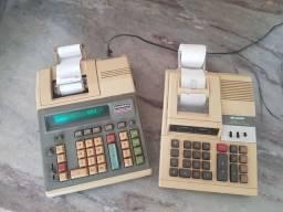 Calculadoras Antigas Funcionando - Raridade