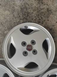 Rodas liga leve aro 14 Fiat