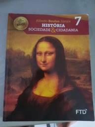 Livro História Sociedade & cidadania 7 FTD