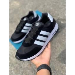 Tênis Adidas Caminhada Musculação Neo Masculino Preto/Branco