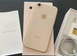 IPhone 8 64gb/troco por iPhone 7 ou superior + Volta