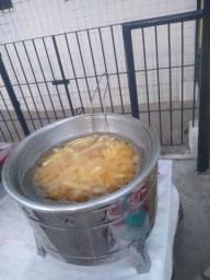 Vende se fritadeira de batata e pastel
