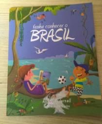 Livro  Venha conhecer o Brasil