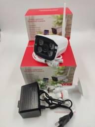 Camera Ip Wireless Externa Prova Dágua Internet Noite Dia