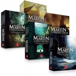 Todos os livros do Game of Thrones