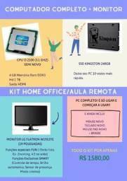 Título do anúncio: Computador i3 Completo- semi novo - hd 1tb + SSD 240gb