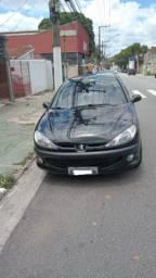 Peugeot-206 Presence 1.4 Flex Completo 2008 c/36km
