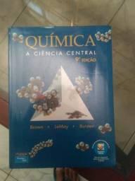 Química A Ciência Central 9° Edição + Compasso 9000, Escalimetro e Esquadros