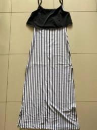 Vestido de Malha  longo