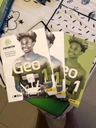 Título do anúncio: Livros de química e geografia conecte live