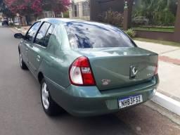 Clio Sedan 1.0 2007 Completo Lindo carro em Excelente estado Abaixo da Fipe