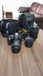 Câmera DSLR Nikon D3100