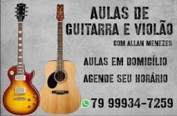 Aulas de Guitarra e Violão em DOMICÍLIO