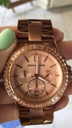 Relógio Feminino Michael Kors Original c/ Cristais Swarovski