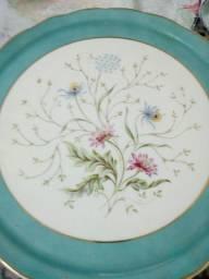 Prato de porcelana Schmidt