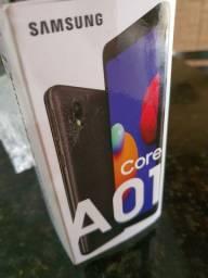 Galaxy A01 Core 32GB Preto Novo Na Caixa!