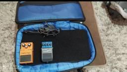 1 pedalboard da landscap e1 pedal distortion Ds1 da Boss