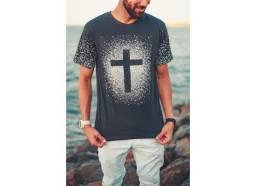 Camisa masculina Cruz