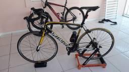 Rolo treino Bike + sensor velocidade/cadência