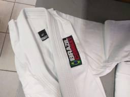 Kimono Brazil Combat - Branco (Tamanho M3)