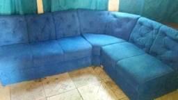 Sofa semi novo suede