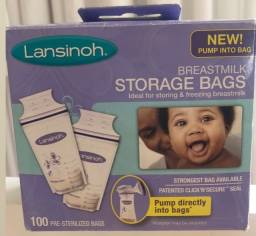 Sacos para armazenar leite Lansinoh