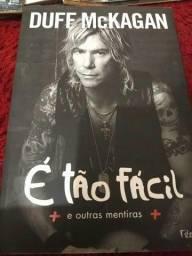 Livro Biografia Duff Mckagan Guns n roses