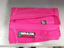 Kimono Brazil Combat - Rosa (tamanho M4)