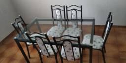 mesa pra vende semi novo3 mes de usado