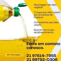 Pago até 1,50 no litro do óleo usado , ou kit de limpeza !!