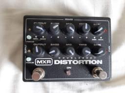 Pedal Distorção Guitarra Dunlop MXR Doubleshot