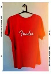 Camiseta Fender - Guitarra Baixo