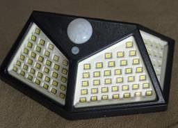 Luz solar led (100) sensor de presença