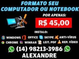 Formatação - Formato seu Computador ou Notebook