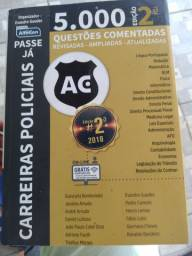 Livro Passe já  5000 questões  comentadas Revisadas-ampliadas-atualizadas