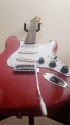 Guitarra Fender Vermelha Squier 1994