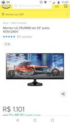 Monitor LG para PC Gamer USADO