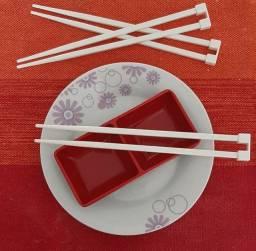Hashi Plástico - Branco