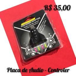 Placa Controladora de Audio Computador